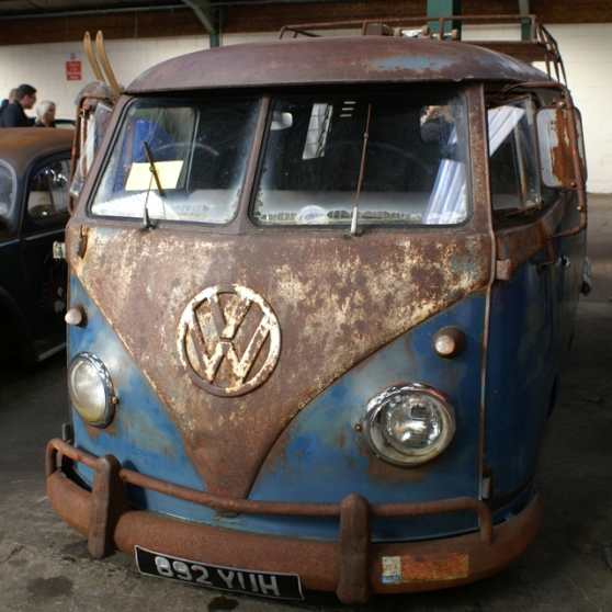 Rat look VW bus