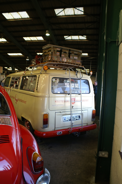 The Sick Bay camper VW Maltese Ambulance