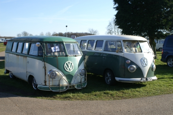 Pair of VW camper vans
