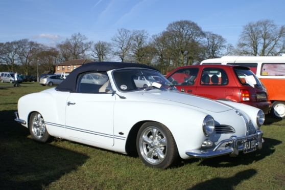 Karmann Ghia Convertible light blue