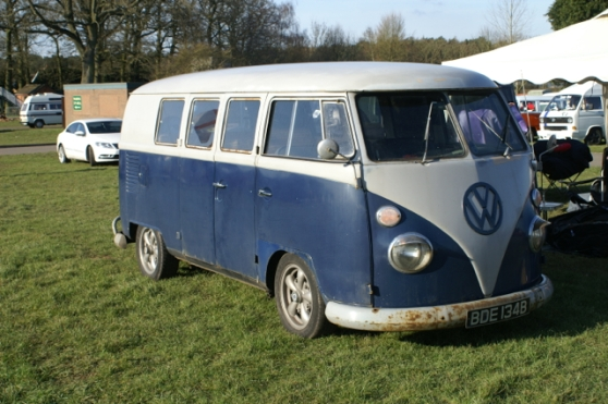 BDE 134B VW transporter split screen van