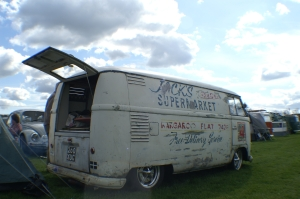 Loved this van, it had a great packing case interior too.