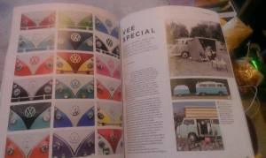 The Simple Things Magazine Issue 13 with pictures of Splitscreen Campervan noses.
