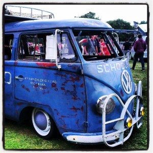Queenswood girls school bus jake sooty shuttleworth splitscreen vw