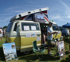 Penny t25 vw camper sim courtie long and whining road