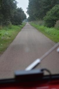 Fenland bumpy road