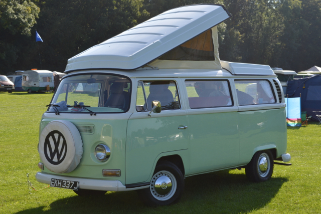 Dubs Int Dales Mint Green Bay Window Vw
