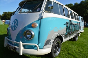 dubs in't dales splitscreen vw turquoise graffiti aircooled