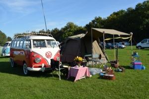 dubs in't dales camping splitscreen vw