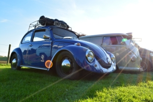 dubs in't dales beetle blue splitscreen camper