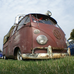vw splitscreen ratty rust and prime