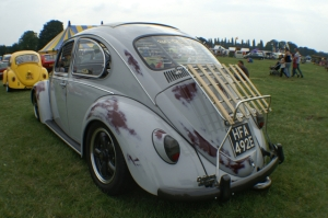 beetle painted patina vw skeg vegas
