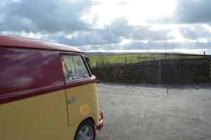 Ruby vw splitscreen panel van Harwes farm