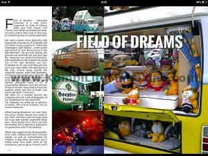 Kombi life field of dreams