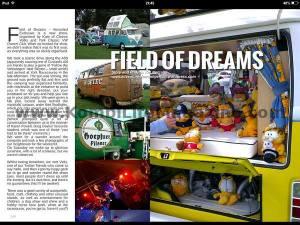 Kombi life field of dreams