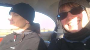 dubfreeze roadtrip selfie