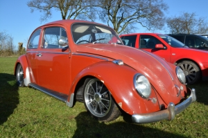 beetle vw lowered slammed ruby red dubfreeze