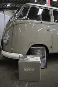 splitscreen vw van coca cola cooler dubfreeze