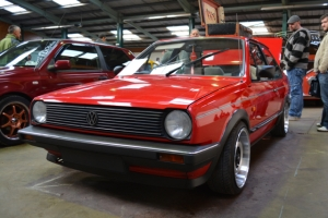 vw golf mark 1 dubfreeze show and shine