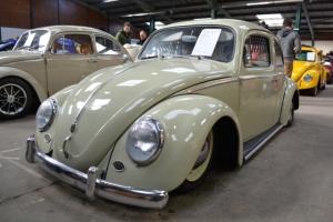 beetle vw slammed narrowed beam dubfreeze show and shine