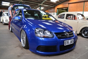 vw golf r32 slammed show and shine dubfreeze