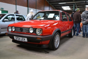 vw golf mark 2 dubfreeze show and shine