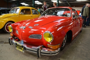 vw beetle karmann ghia dubfreeze show and shine