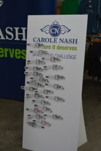 dubfreeze carole nash sparkplug change challenge