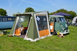 SSVC Victoria Farm AGM Splitscreen Camper Van awning