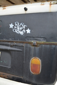 Spring Dub Bay crew cab rust is not a crime